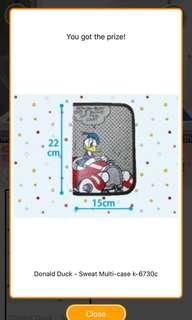 [TOREBA] Donald Duck - Sweat Multi-case k-6730c