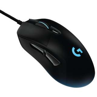 Logitech G403 Prodigy Wired RGB Gaming Mouse – 16.8 Million Color Backlighting, 6 Programmable Buttons, Onboard Memory, Up to 12,000 DPI ( 2 yrs Local Warranty )