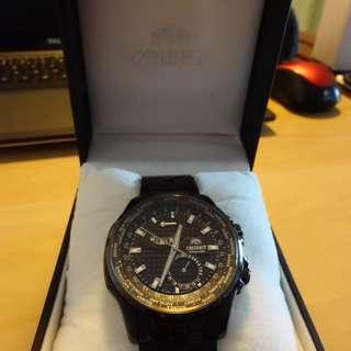 Orient World Timer Automatic mechanical watch