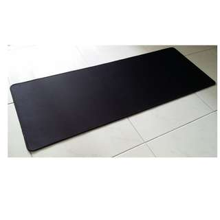 Plain Black XL Mousepad