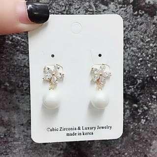 🚚 🌸珍珠耳環#一百元好物