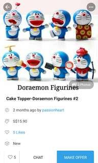 Cake Topper -doraemon
