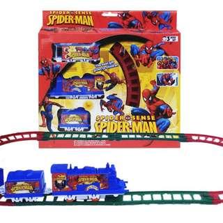 Mainan Kereta Api SPIDERMAN TRAIN - 022-4