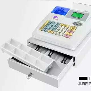 全新收银機連一箱打印紙