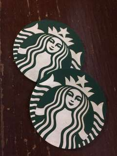 Original Starbucks coaster (2pcs)