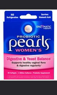 BN authentic probiotic pearls women's - enzymetic therapy