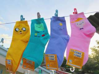 Korean Socks - ADVENTURE TIME