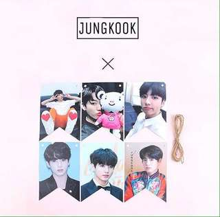 BTS JUNGKOOK POSTER DECORATION