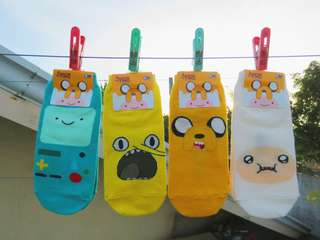 Korean Socks - ADVENTURE TIME