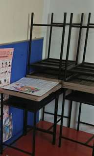 tables for school tuition center or kindergarten