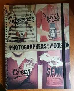 *NEW* Typo Hispter Camera Notebook