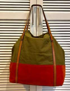 AUTHENTIC BURBERRY BEWLEY UTILITY TOTE