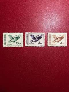 中國郵票紀24-保衛世界和平(第三組)郵票一套