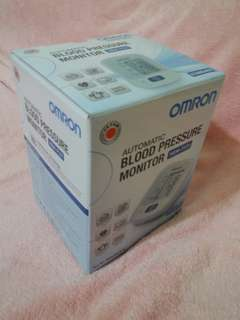 Omron automatic blood pressure monitor retail sgd99.90.
