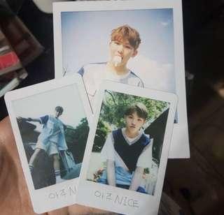 SEVENTEEN Woozi Aju Nice Photocard