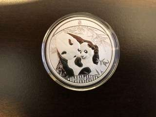 2018 Singapore international coin fair 1oz silver