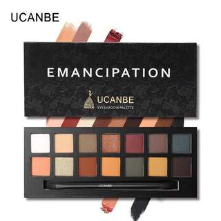 🦋UCANBE Matte Shimmer Eye Shadow With Waterproof Brush🦋