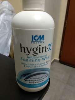 Hygin x antibacterial wash for body face