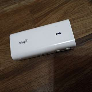 Hame power bank and router