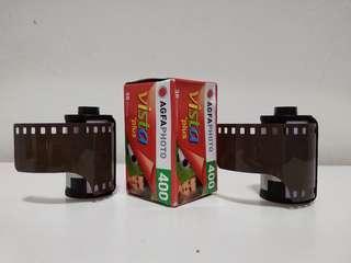 3 rolls Agfa Vista 400 135 film
