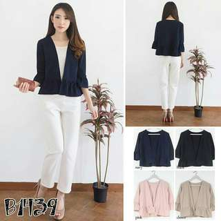 Outer bell sleeve NAVY