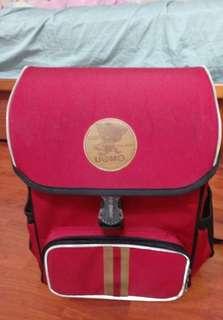 UnMe 小學生紅色後背書包