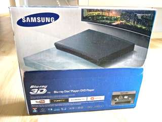 Samsung 3D Blu-ray Disc Player/DVD Player