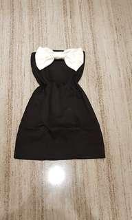 Bow tube dress