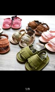 Baby Girl sandals Shoes soft sole anti-slip shoes