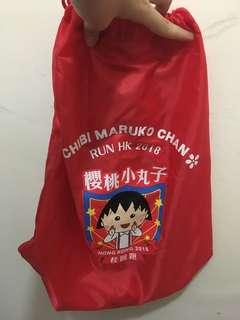櫻桃小丸子2018香港 索繩袋與獎牌