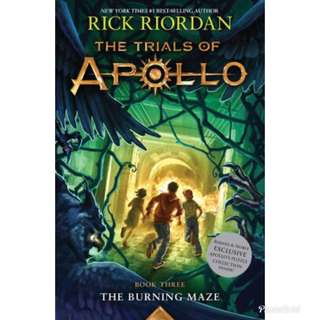 [BARNES & NOBLE EXCLUSIVE] The Burning Maze by Rick Riordan