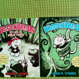DragonBreath Book 1 and Book 2
