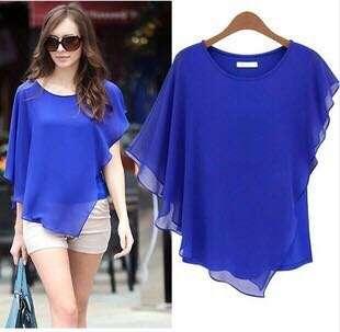 XL Blue blouse