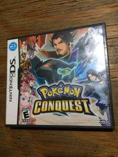 DS game Pokémon Conquest US
