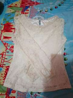SALE! Pre-loved Lace Lolita Cute Top
