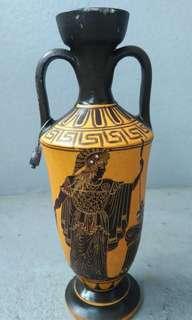 🚚 希臘手繪神話陶花瓶 陶壺