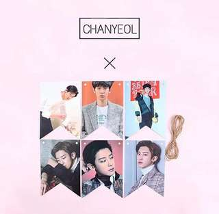 EXO CHANYEOL POSTER DECORATION