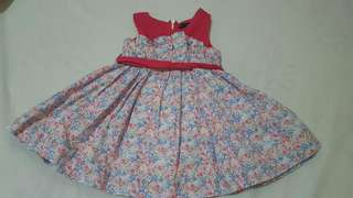 Periwinkle Dress - 1 year old
