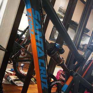 Mtb Santa Cruz Hightower LT custom decals