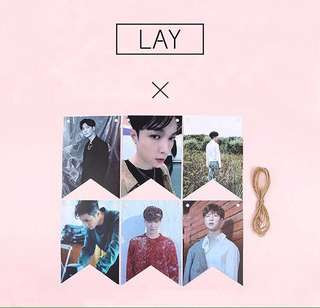 EXO LAY POSTER DECORATION