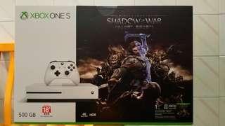 Xbox One S 500GB - 11 months warranty (HK)