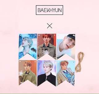 EXO BAEKHYUN POSTER DECORATION