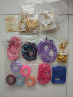 Gold tube bracelet supplies