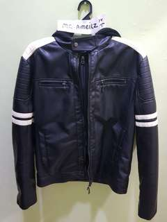 Leather Jacket x Parka