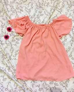 Off Shoulder (Pink)