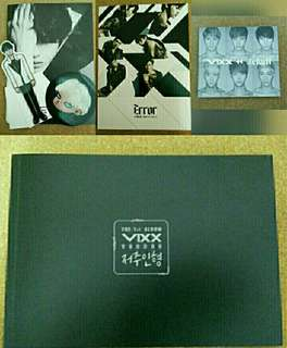 [Free pos]All in the pic Vixx Official Photobook only