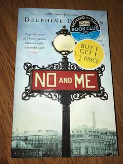 Book - No and Me by Delphine de Vigan