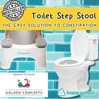 HAPPY STOOL - Toilet Step Stool