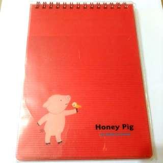 小豬線圈筆記本