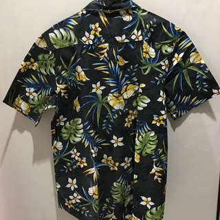 Stussy paradise button down shirt aloha beach size medium